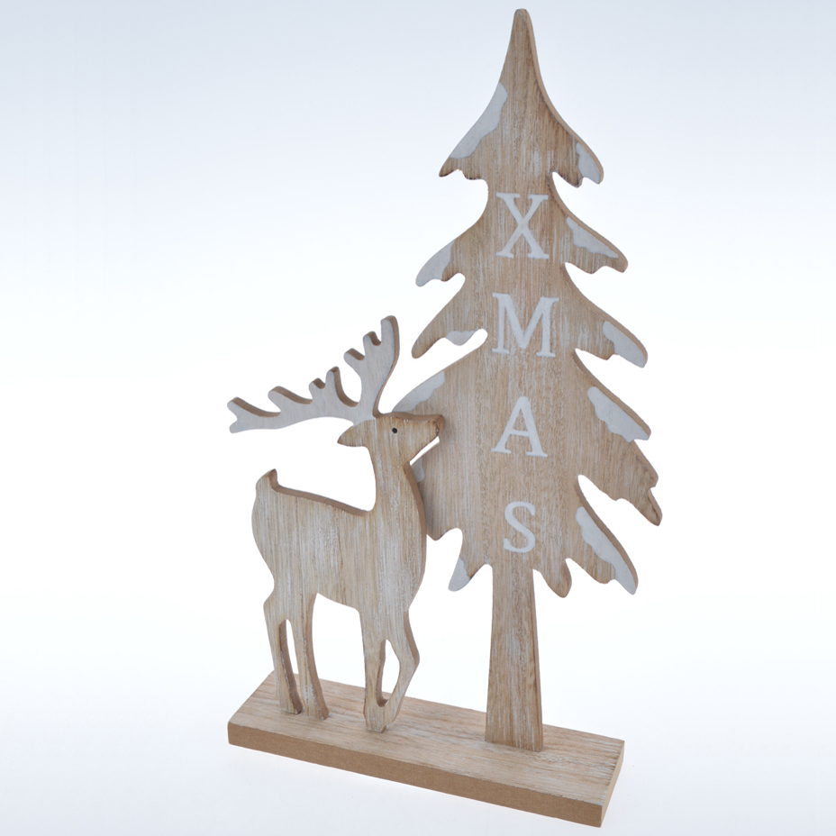 Artificial Wood Carving Tabletop Christmas Tree Model Wooden Christmas Tree Decoration Buy Wooden Christmas Tree Christmas Tree