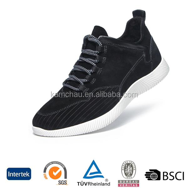 wholesale china best export kids boys black leather running shoes sneakers for flat feet