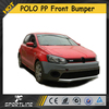 CROSS Style Poly PP Car Front Bumper New POLO Body Kits for VW New POLO