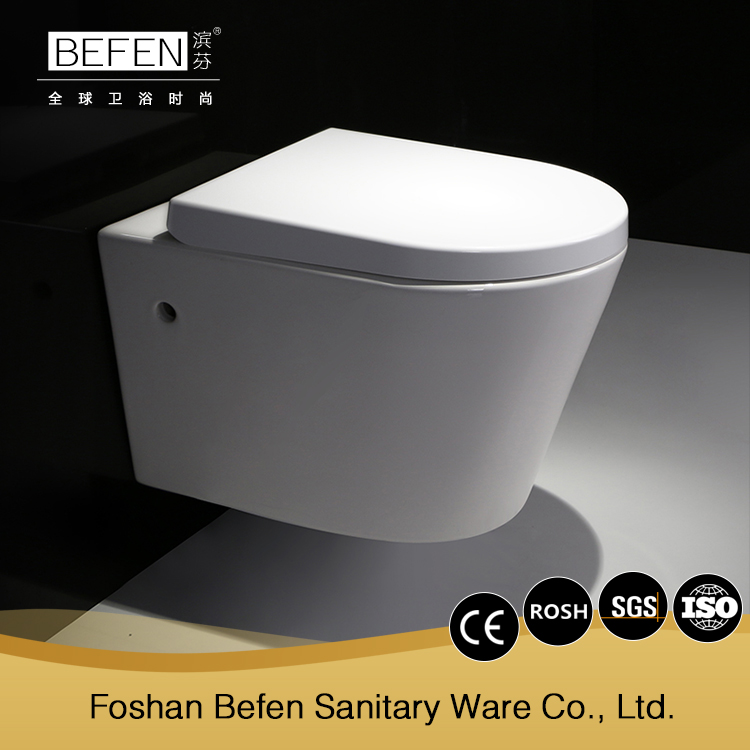 New coming porcelain wall hung female toilet bowl australian standard