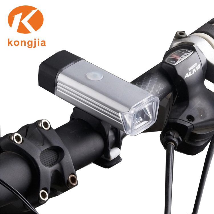 Nhkj Usb Rechargeable Led Bicycle Bike Front Light