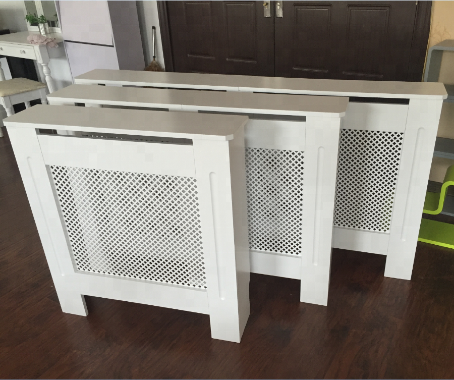 Hot Sale Radiator Cover Modern Style Radiator Cover Wood White For