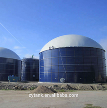 Enamel Coating assembly tank anaerobic digester for biogas plant