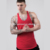 bright color gym tank top wholesale blank athletic singlet fitness clothing custom