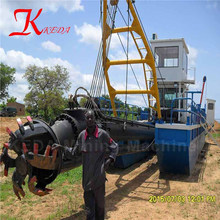 China Factory 10 inch cutter suction dredger for reclamation works
