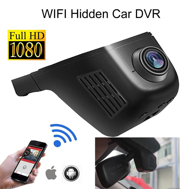 universal hidden car camera 1080P with wifi ,vehicle car dvr use mobile easy operate