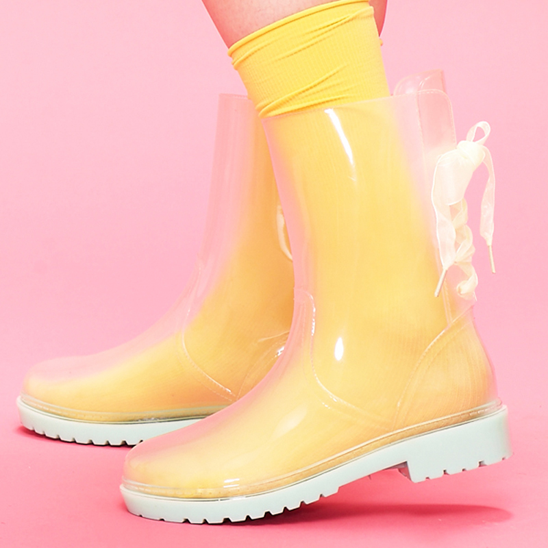 Cheap Clear Rain Boots