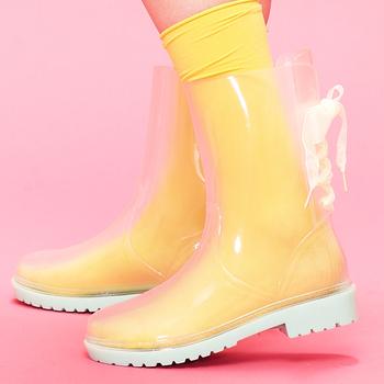 Rain Boots Clear