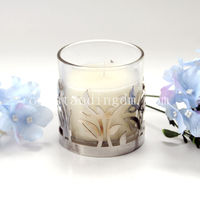 2017 New Arrival stained glass candle holder for medical use