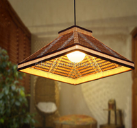 decorative hanging bamboo lamp shades lighting