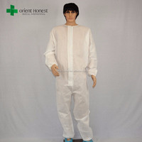 CE ISO approved Flame retardant anti-static safety working-clothing for one time use
