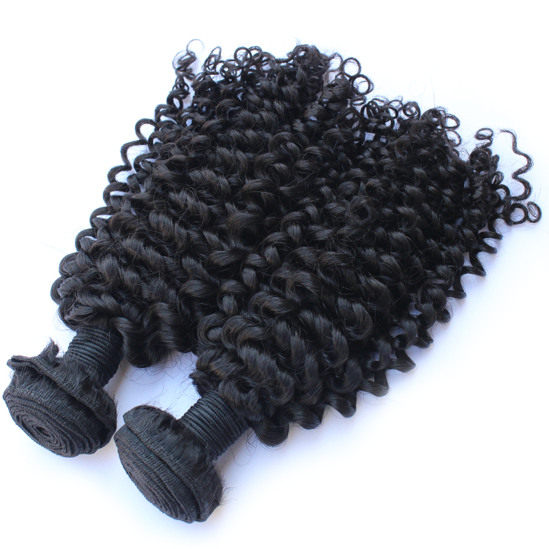 Dropshipping Tangle Free Cuticle Aligned Kinky Curly 100% Unprocessed Virgin Hair For Wholesale фото