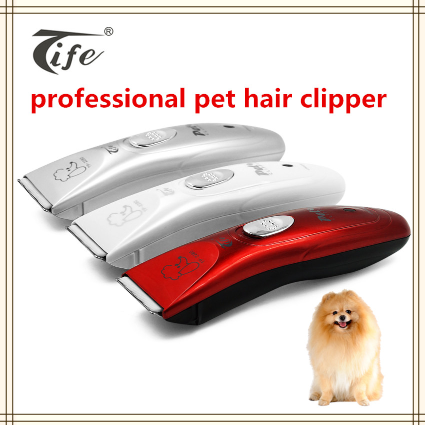 China pet supplier good quality cheap price battery operated electric razor pet dog hair clipper