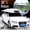 SUNCLOSE russian half car cover sun protection car body cover tent car magnet snow protect cover