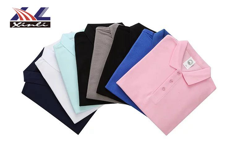 FREE SAMPLE Wholesale custom logo advertising embroidered short sleeves polo shirt cotton