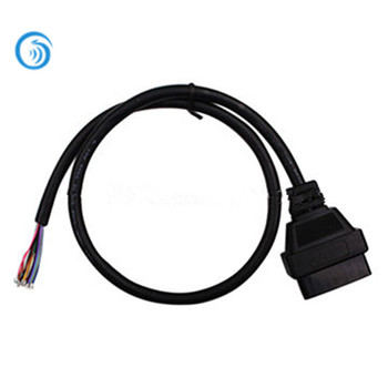 Custom Cable Assembly With Obd2 16pin Female Connector To Open