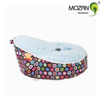 2016 Modern Design Soft Fabric Baby Bean Bag Chair