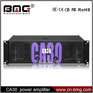 BMG Professional Power Amplifier CA/1500W High Power Amp/CA30 Power Amplifier
