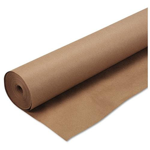 100% Recycled 80gsm Brown Kraft Paper Roll