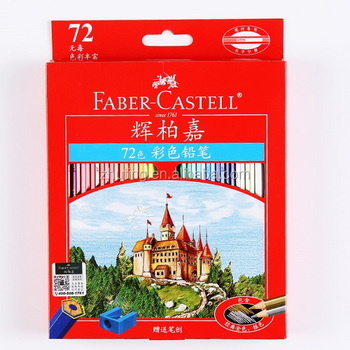Faber Castell 72 Colors Non-toxic Lapis De Cor Professional Colored ...