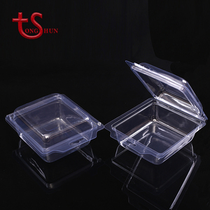 Custom packaging clear PVC PET transparent clamshell blister box