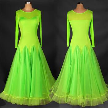 07ad5eb3eaa3 OCTM033 Free Customized Sizing Modern Waltz Tango Smooth Standard Ballroom  Dance Dress