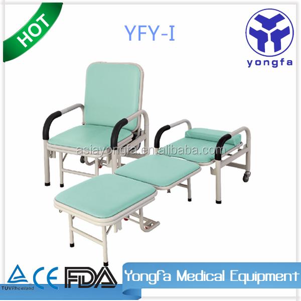 Yfy i hospital silla auxiliar silla cama para dormir en la for Sillas para hospital