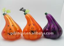 holloween plastic pumpkins with LED light