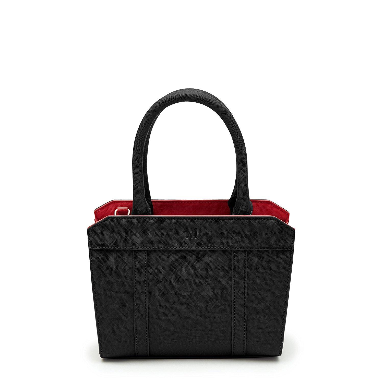 Marsi Bond Stylish Casual Vegan Faux Leather Fashion Backpack for Women Scarlett