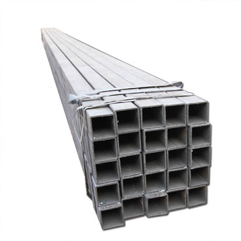 35x35 carbon steel tube pre galvanized square steel pipe