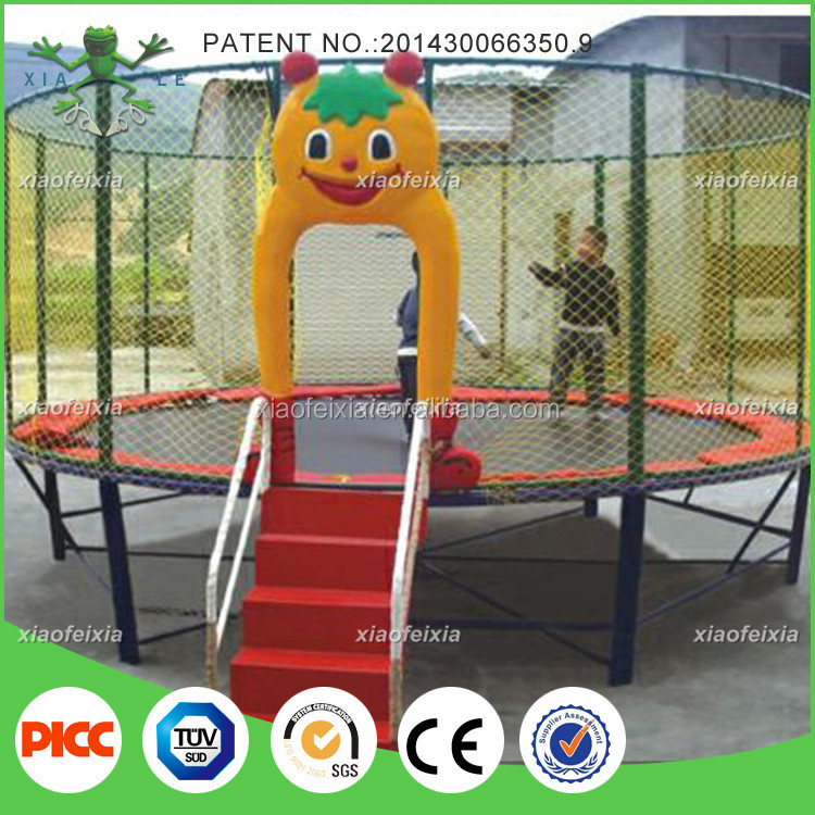 14ft Round Trampoline Tent With Safety Net From China Suppliers