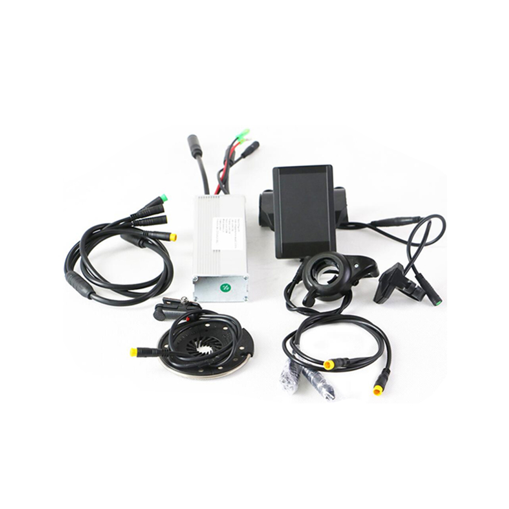 E bike conversion kits 48V 1000W hub motor controller spare parts with 850C color LCD Display