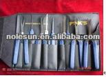 Auto key extractor set with suit for locksmith tools for lock picking tools
