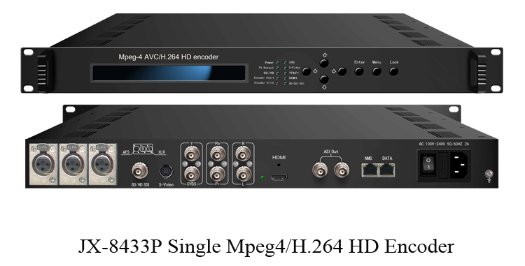 Analogico a ip video encoder audio over ip encoder