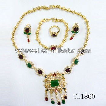 Morocco Gold Jewelry Sets African Jewelry Sets 18k Wholesale