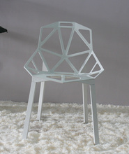 Replica Konstantin Grcic chair one aluminum outdoor cafe chairs