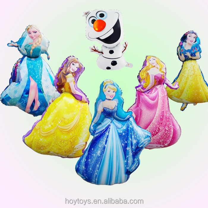 Party decor frozen olaf princess helium balloon