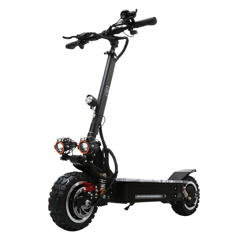 Lithium Battery 11 Inch 1600W Double Motor 3200W Electric Mobility Scooter