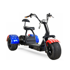 High quality electric tricycle 1200w 60v three wheel electric scooter trike for adults