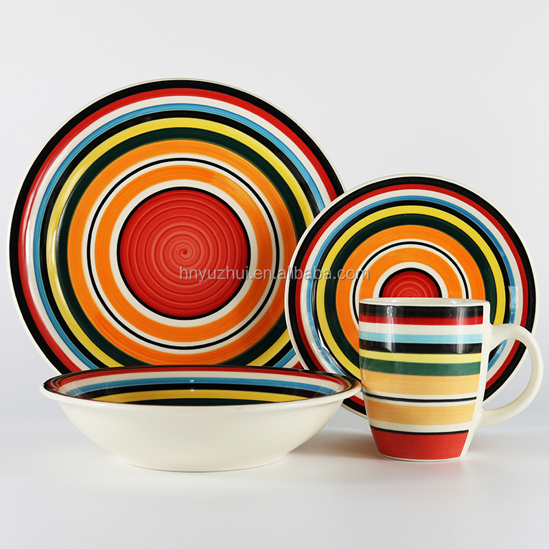 Colorful Mexican Ceramic Dinnerware Sets Colorful Mexican Ceramic Dinnerware Sets Suppliers and Manufacturers at Alibaba.com  sc 1 st  Alibaba : mexican plate set - pezcame.com
