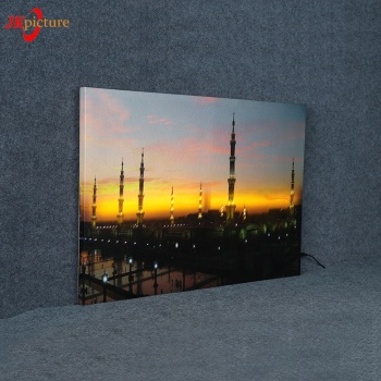 Decoration light box picture LED Illuminated no framed picture