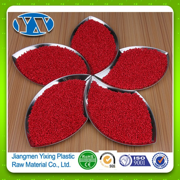High Concentration Red Masterbatch Suitable For Plastic Products Of Common Pe,Pp,Abs,Eva,Ps,As,Pet,Pa And Pc