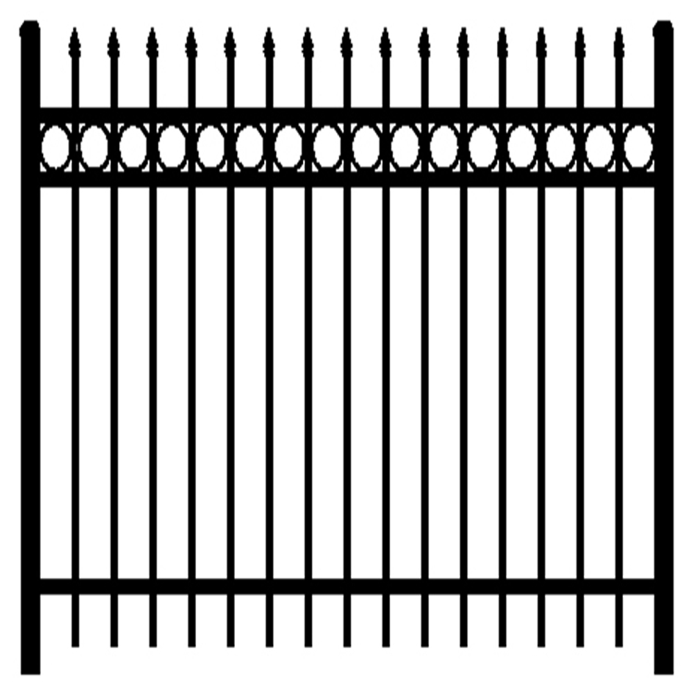 Garden products used fence and fence gate
