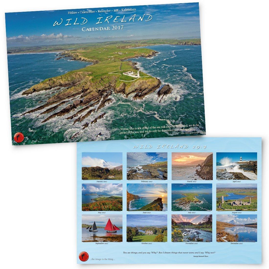 A4 Wild Ireland Calendar 2018