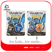 Kids interphone toys,policeman fireman walkie talkie play toy phones for pretend play game