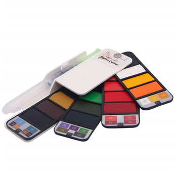 Wholesale Newest Attractive Design Easy To Carry 18 Colors Acrylic Artist Paints