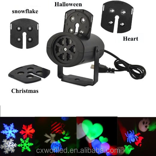 2016 Indoor Auto-moving laser lights 3w fairy romantic led laser Lamp spider love for party Christmas led laser light
