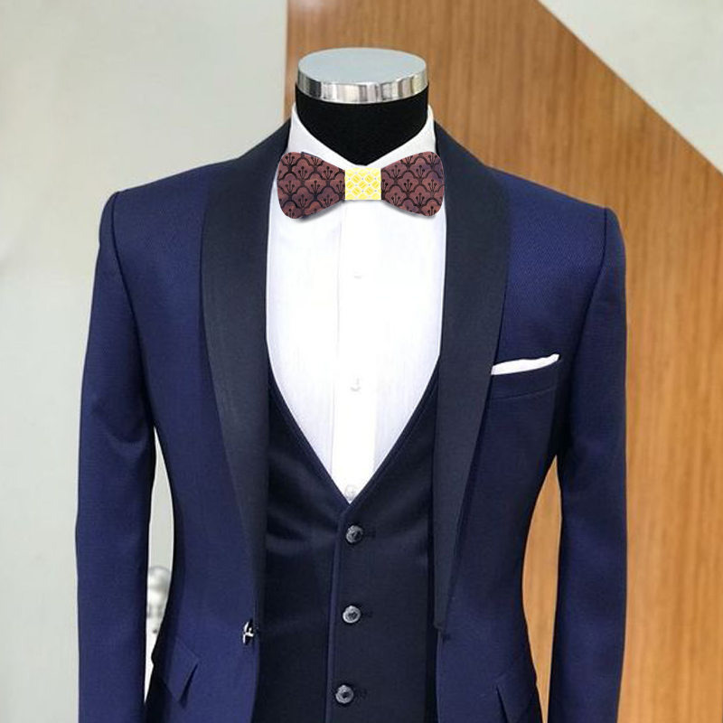 New Fashion Hollow Wood Bow Ties for Men Wedding Suits Wooden Bow Tie Butterfly Shape Bowknots Gravatas Slim Cravat