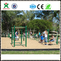 Good quality outdoor fitness gym, street workout equipment, garden gym equipment