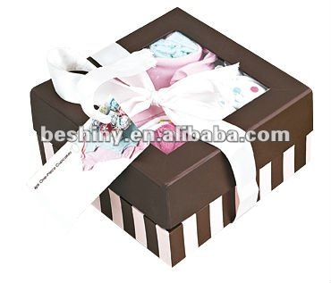 fashion new design color box paking baby gift sets 94695